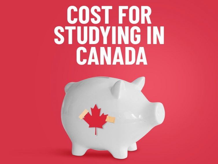 Cost for studying in Canada